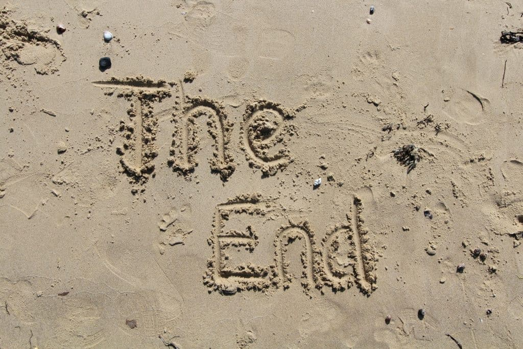 The End on Sand