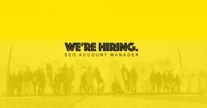 Hiring SEO Account Manager - 3 Door Digital