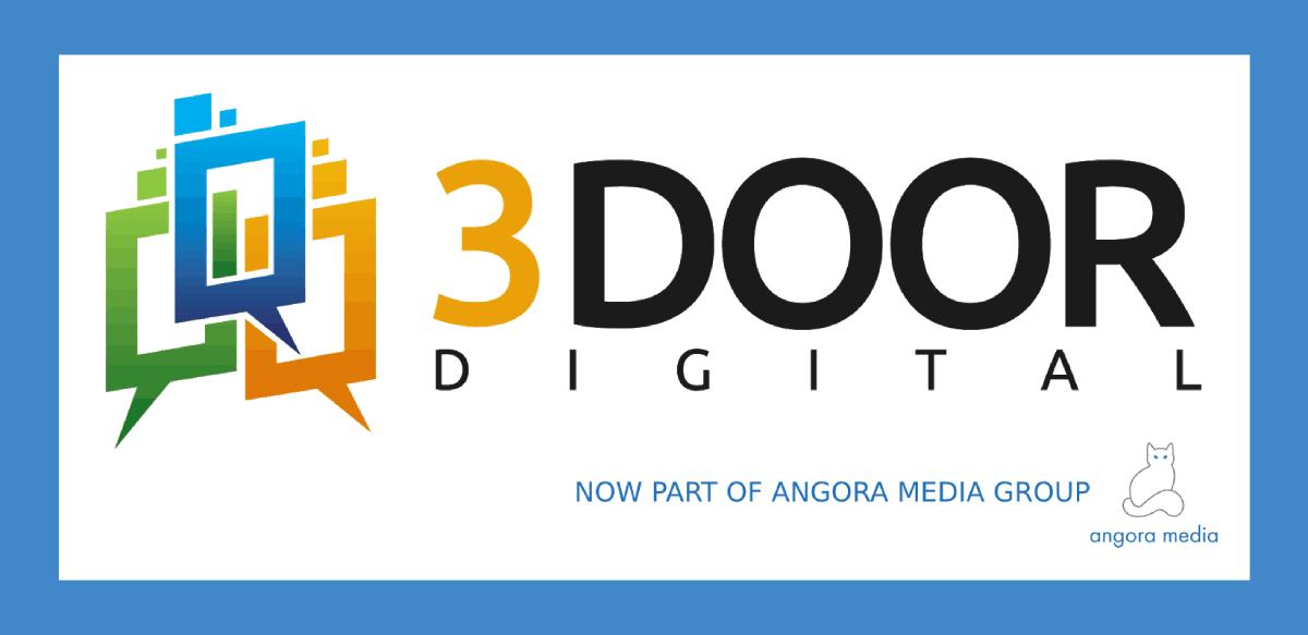 3 Door Digital Logo